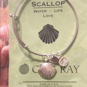 Scallop Bracelet (for people who love the water)